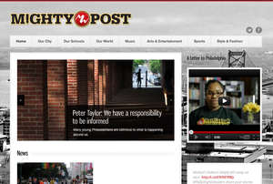 Mighty Post Website Preview - Screen Shot