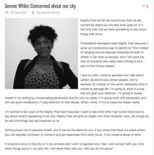 Mighty Post Testimonial - Serene, Grade 10