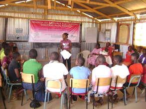 Health and sanitation training