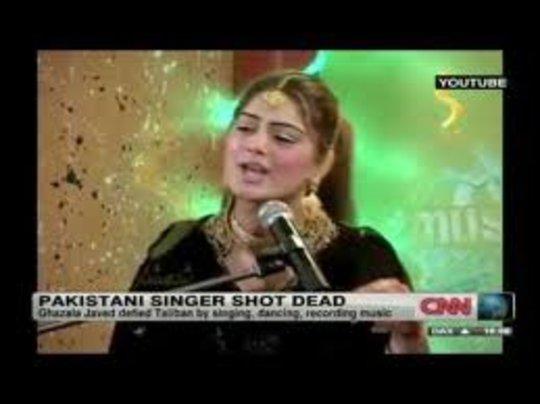 Woman Singer Shot dead by Terrorists