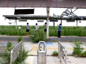 current Tomioka station