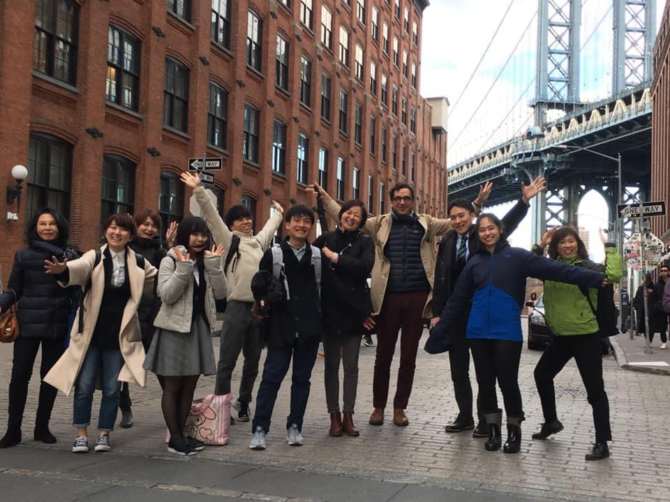 with Ashoka Fellow in New York