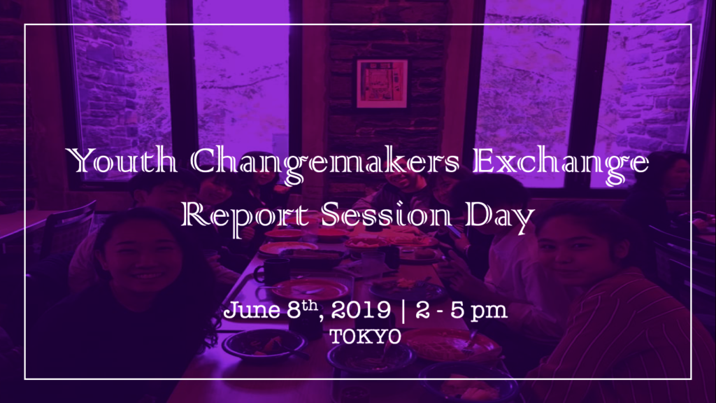 Youth Changemakers Exchange Report Session Day