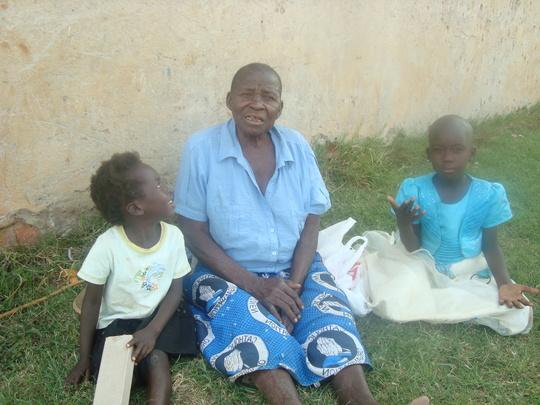 Atimango and her grandmother