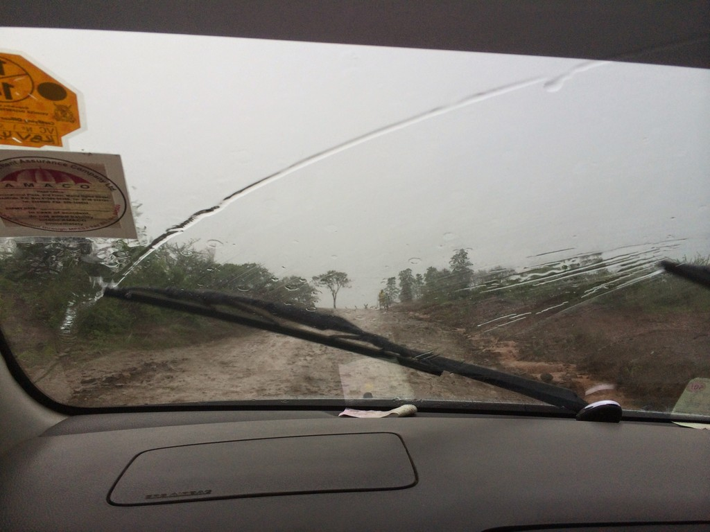 The condition on the road in samburu was bad
