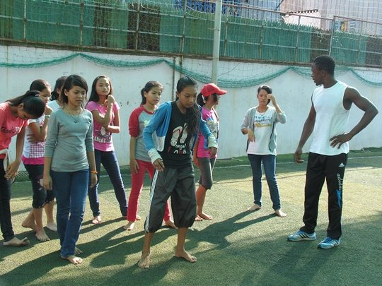 Thanks to Soccer Skills and Fitness Cambodia!