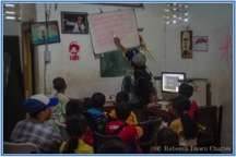 Education sessions in our classrooms