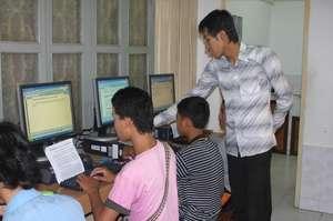 Computer classes at Tiny Toones