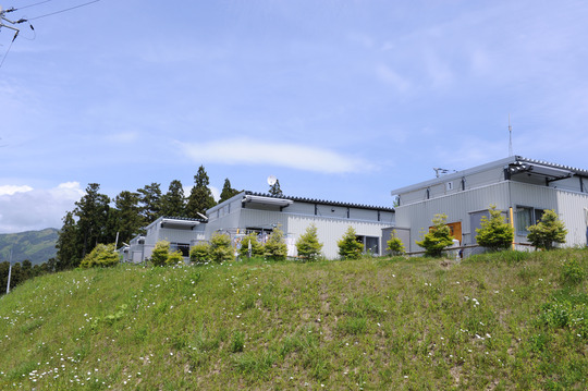 Temporary housing in Iwate