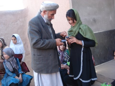 Women & Girls Learn through Mobile Literacy