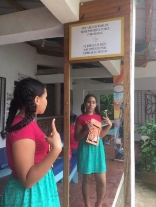 Empowering messages empower girls!