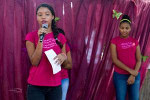Erika, 15, shares her spoken word piece