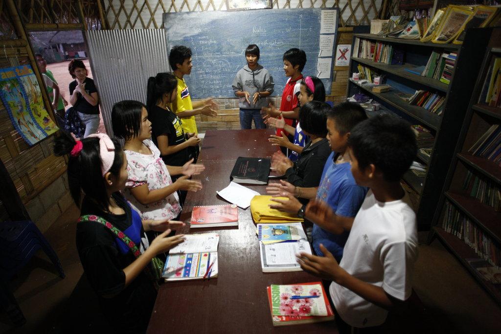 Empower ethnic Burmese refugees through education