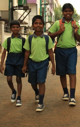 Top class education to 1500 children in Bangalore