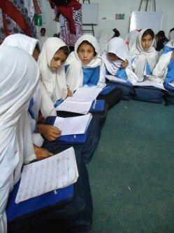 Girls Learn in Dir, Pakistan