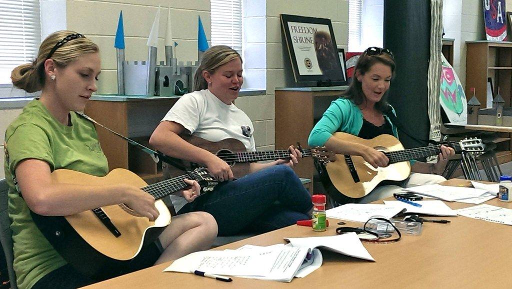 Teachers in South Carolina at GITC Class