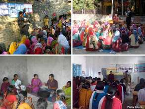 Awareness sessions conducted in multiple places..