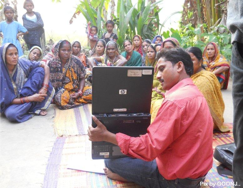Awareness using different technologies..