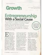 Article in Small Medium Entrepreneur (PDF)