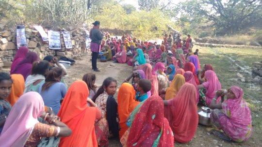 NJPC awareness session on menstrual hygiene