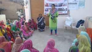 NJPC awareness session on menstrual hygiene