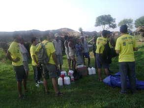 Disaster Relief in 1008 Nepalgunj Nepal
