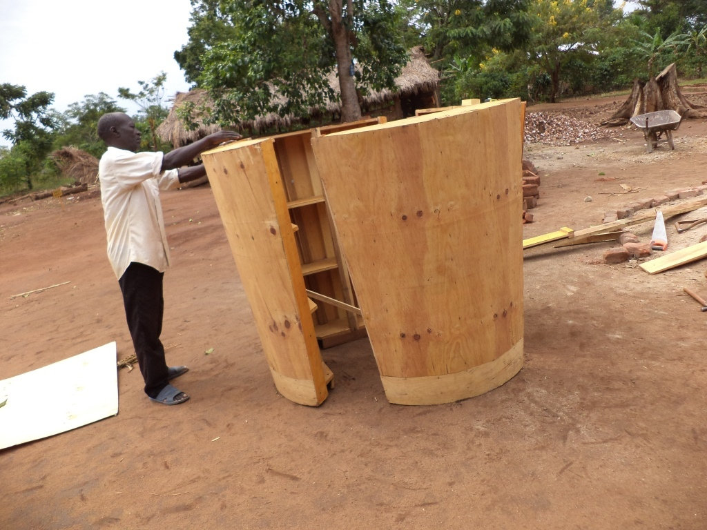 Assembling the Water tank form