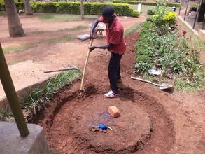 Digging Base Foundation
