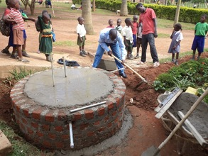 Base being concreted