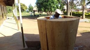 Wood form installation