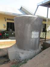 The tank which was donated