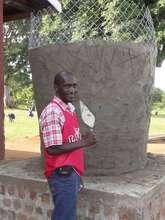 Robert Kibaya - the project instigator
