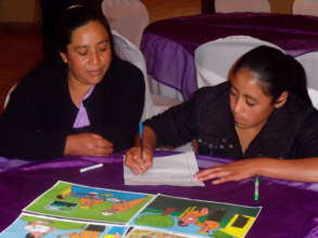 Mother & Daughter Learn Together