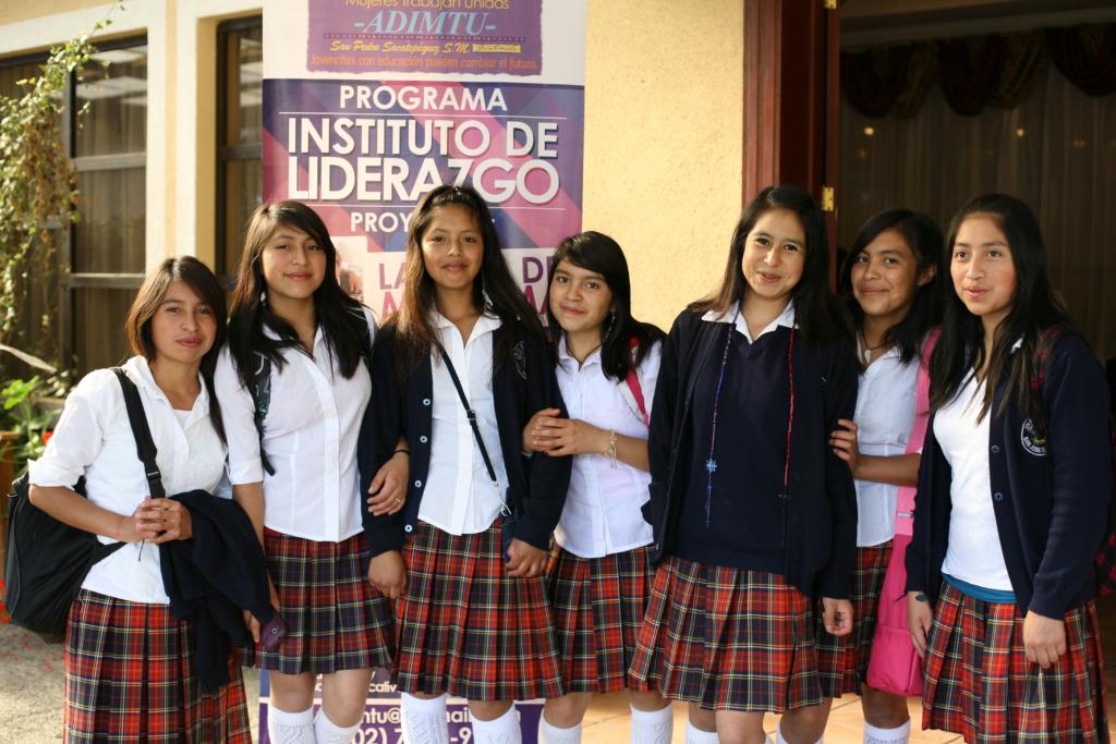 Girls Celebrate Leadership Institute Graduation