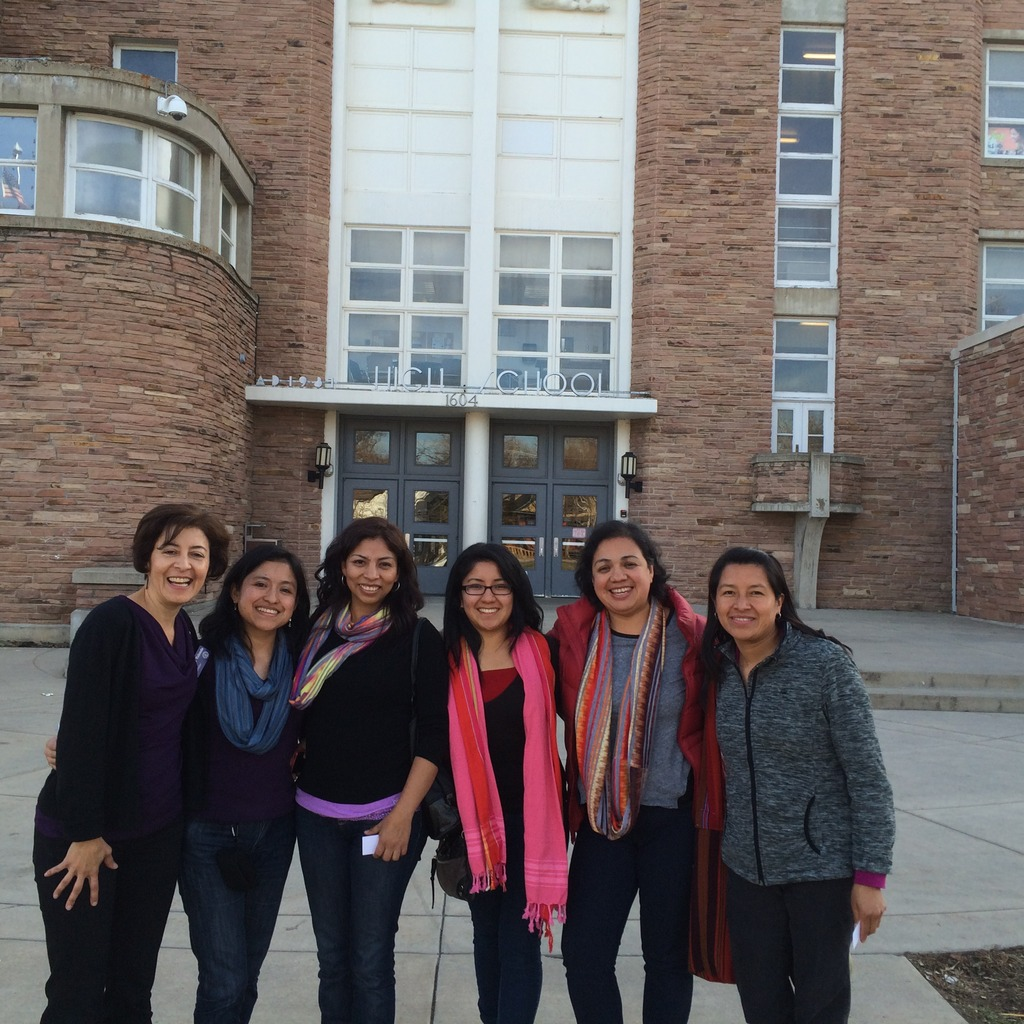 ADIMTU Team Visit Boulder High School