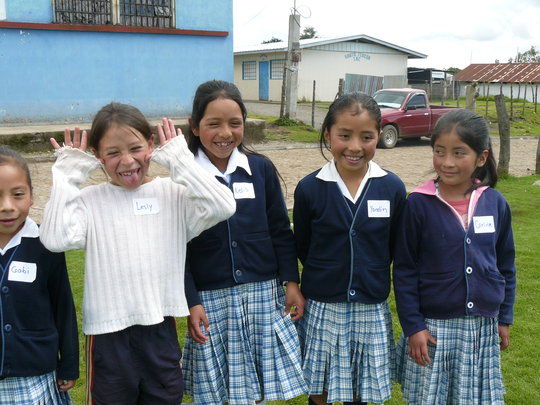 Girls Mentoring Girls in Guatemala