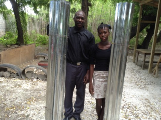 Charlene and her Father