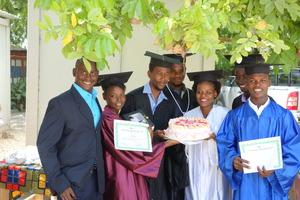 Graduates with Djemson