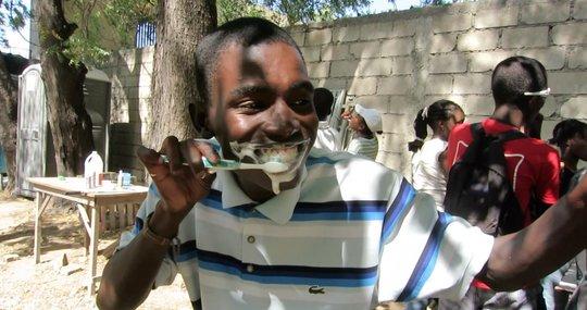 Stanley in RG hygiene class