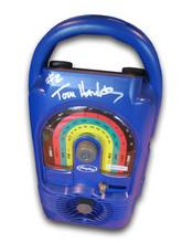 One of 10 Lifeline radios signed by Tom Hanks