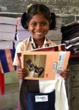 Kids receiving material as a reward
