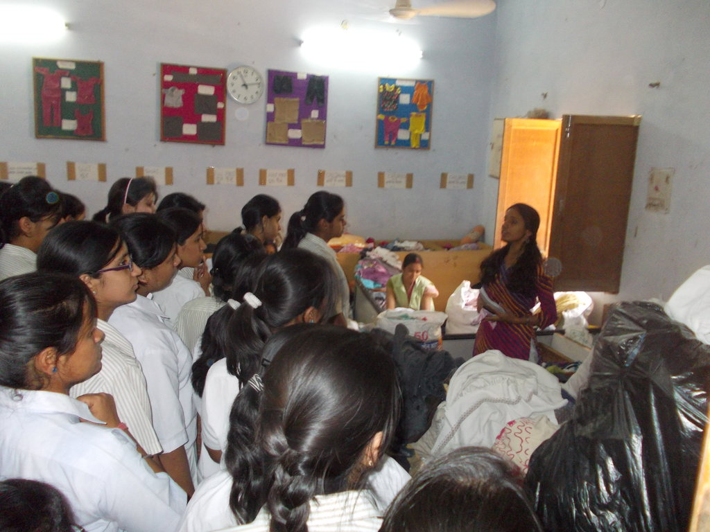 Interaction with ASN Public School