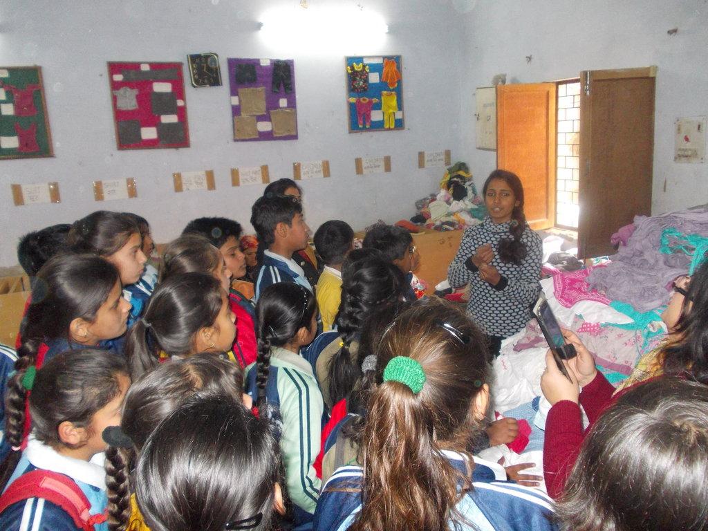 Delhi Public School Interaction