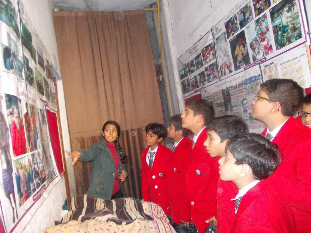 G.D. Goenka School interaction