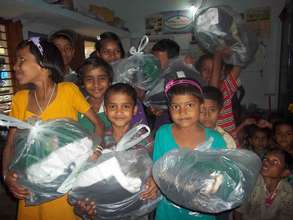 Happy faces of Netaji Children Club at Dariapur