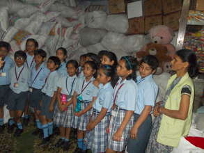 Sensitizing children from urban schools