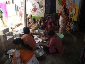 Parents at Nutrition Mela