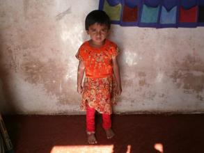 Saniya - from our Born Learning Centre