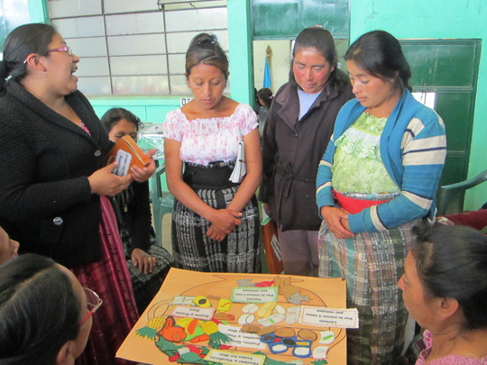 Mothers in a Nutrition Workshop