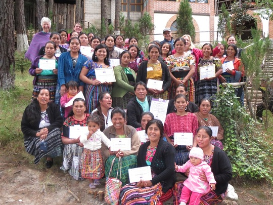Recognizing mother leaders at annual retreat